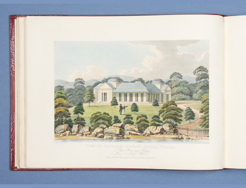 Views in Australia or New South Wales, & Van Diemen's Land Delineated, in Fifty Views, with...