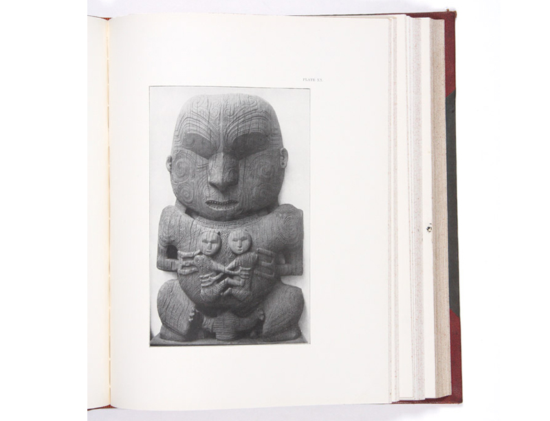 Maori Art: The Art Workmanship of the Maori Race in New Zealand