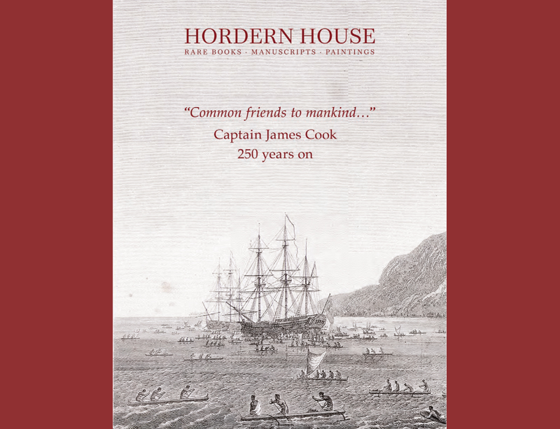 Captain James Cook 250 years on catalogue: To access full catalogue please click here