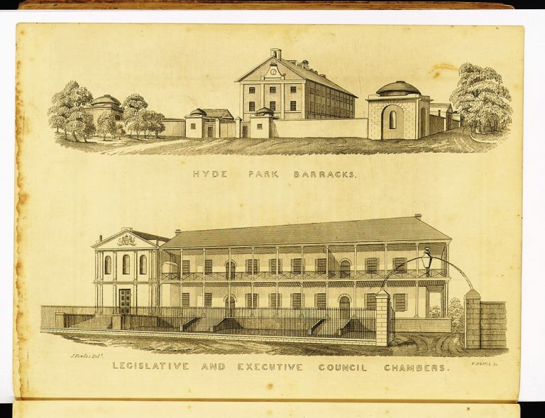 Sydney in 1848: Illustrated by copper-plate engravings…. Joseph FOWLES.