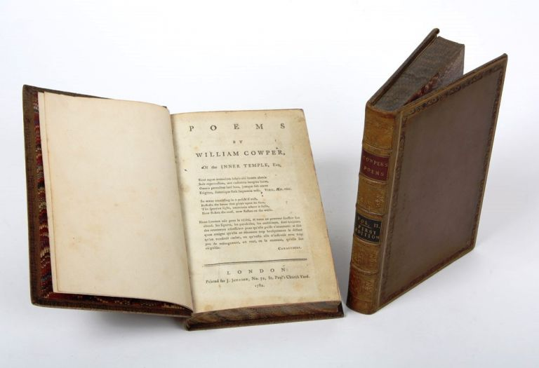 Poems by William Cowper of the Inner Temple. William COWPER.