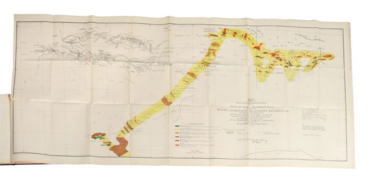 Journal of the Elder Scientific Exploring Expedition, 1891. ELDER EXPEDITION, David LINDSAY.