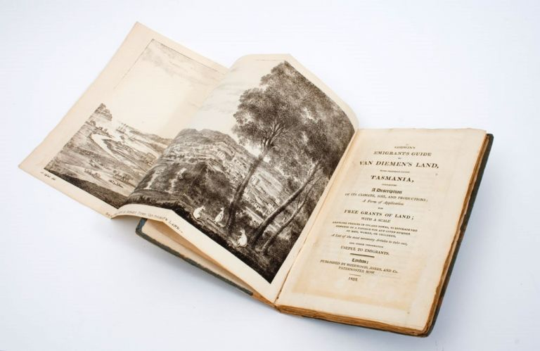 Godwin's Emigrant's Guide to Van Diemen's Land, more properly called Tasmania, containing a Description of its Climate, Soil and Productions; a Form of Application for Free Grants of Land… a list of the most necessary Articles to take out, and other information Useful to Emigrants…. Thomas GODWIN.