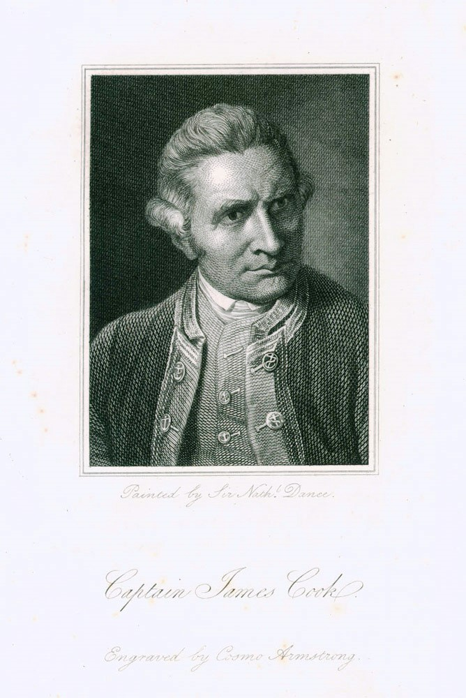 Captain James Cook. Cosmo ARMSTRONG, after Nathaniel DANCE.