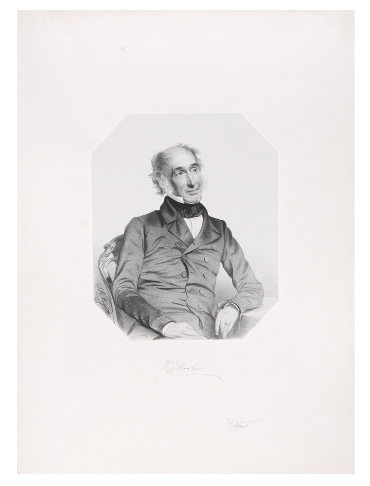 Portrait of Sir William Jackson Hooker. HOOKER, T. H. MAGUIRE.
