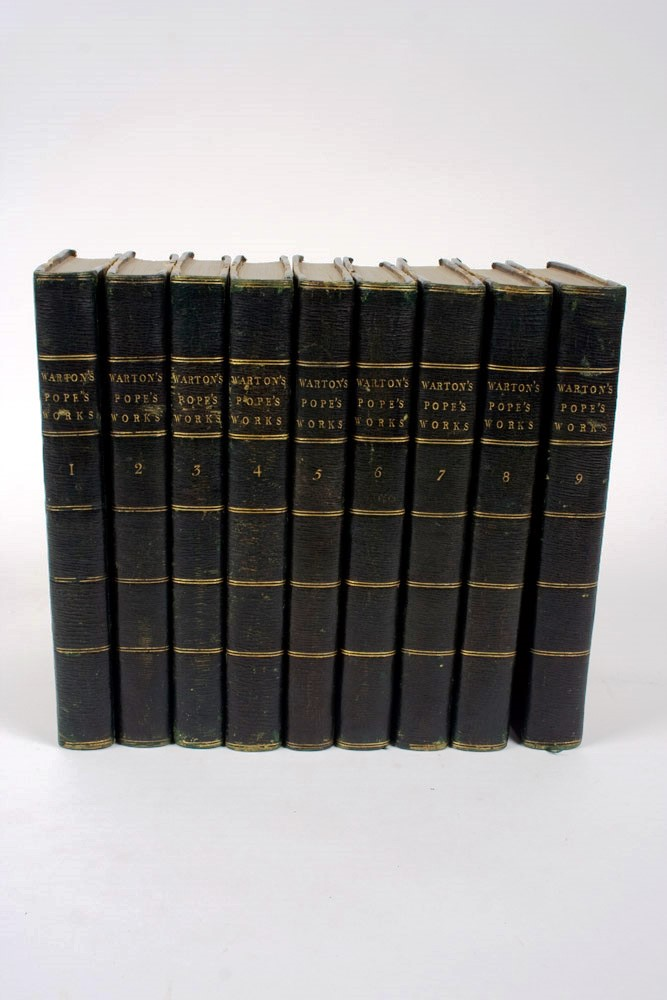 The Works of Alexander Pope Esq. in Nine Volumes, Complete. Alexander POPE.