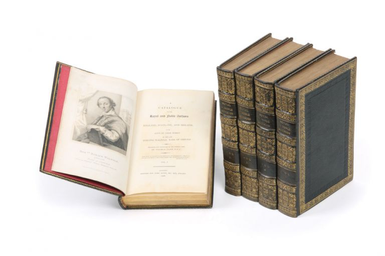 A Catalogue of the Royal and Noble Authors of England, Scotland, and Ireland; with Lists of their Works. Horace WALPOLE.