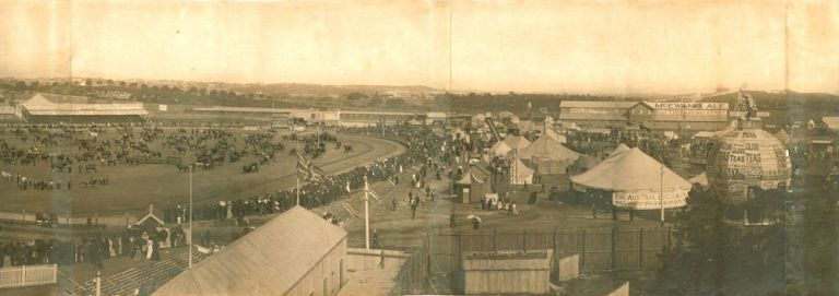 Royal Agricultural Show of 1897. PANORAMA, ROYAL AGRICULTURAL SOCIETY OF NEW SOUTH WALES.