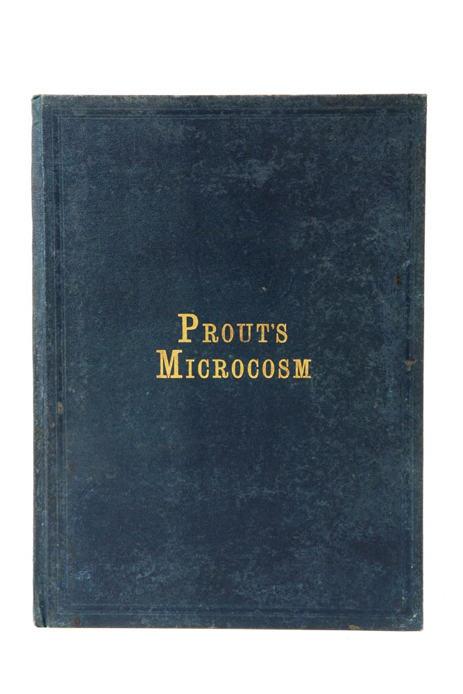 Prout's Microcosm, The Artist's Sketch-Book of Figures, Shipping and Other Picturesque Objects. Samuel PROUT.