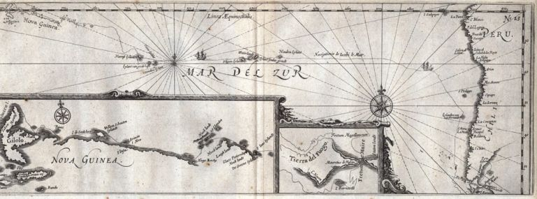 Map of New Guinea. DAMPIER, Joris van SPILBERGEN.