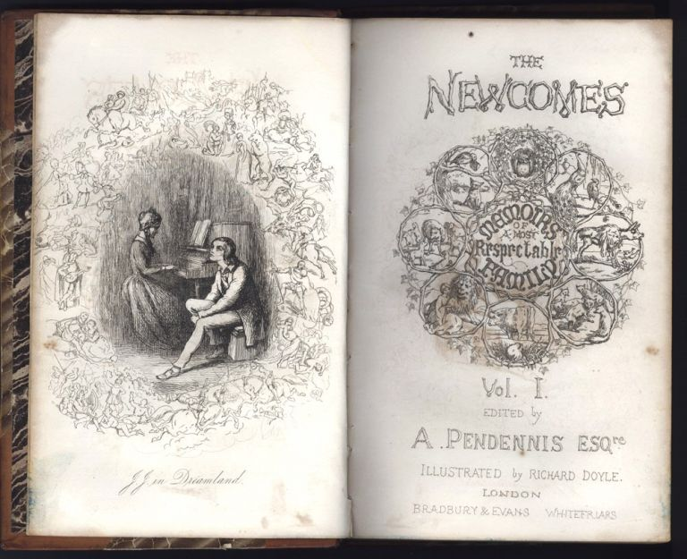 The Newcomes. Memoirs of a most respectable family. William Makepeace THACKERAY.