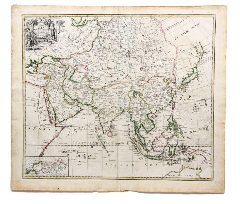 A New Map of Asia From the latest Observations. Most Humbly Inscrib'd to the Right Hon.ble George Earl of Warrington. John SENEX.