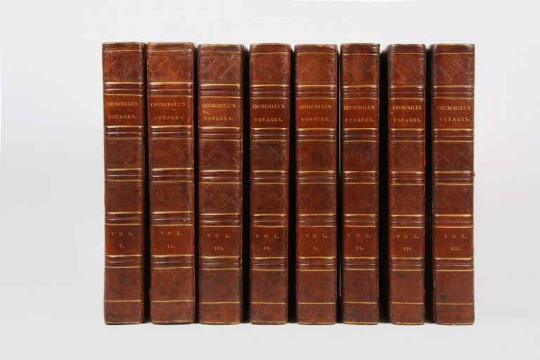 A Collection of Voyages and Travels. Awnsham CHURCHILL, John Thomas OSBORNE, and.