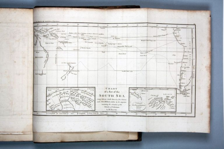 Discoveries of the French in 1768 & 1769, to the South-East of New Guinea, with the subsequent visits to the same lands by English Navigators, who gave them new names. To which is prefixed, an historical abridgment of the voyages and discoveries of the Spaniards in the same seas. Charles Pierre Claret de FLEURIEU.