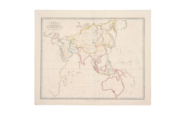 Asia for the Elucidation of the Abbe Gaultier's Geographical Games. ASPIN, Abbe GAULTIER.