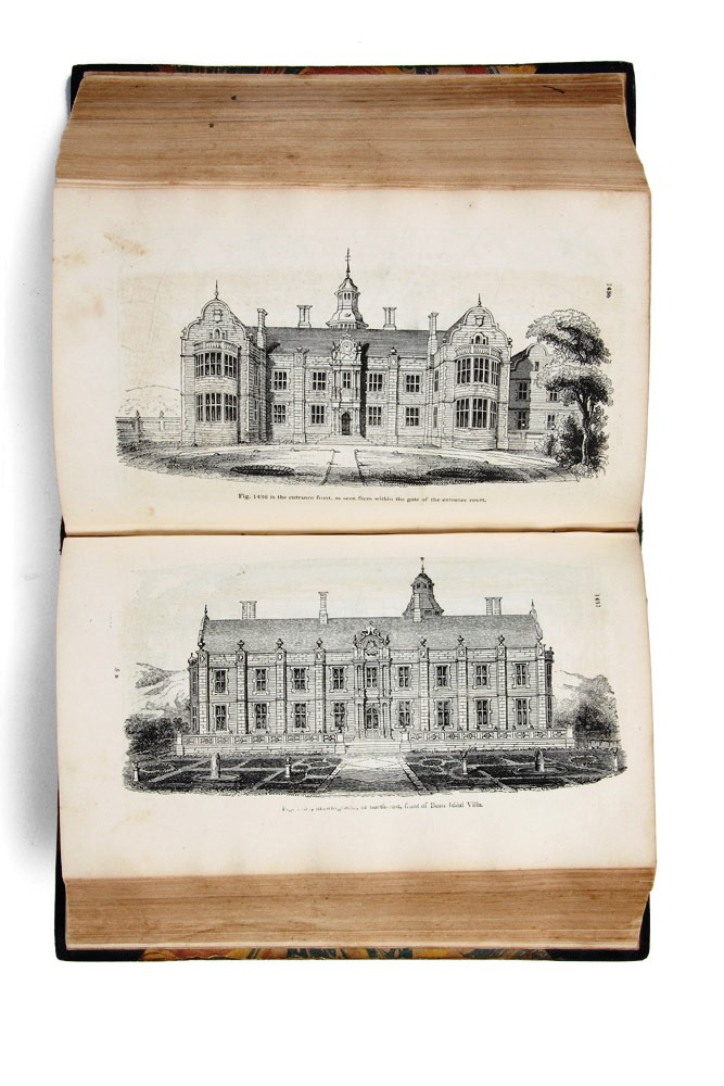An Encyclopaedia of Cottage, Farm, and Villa Architecture and Furniture…. John Claudius LOUDON.