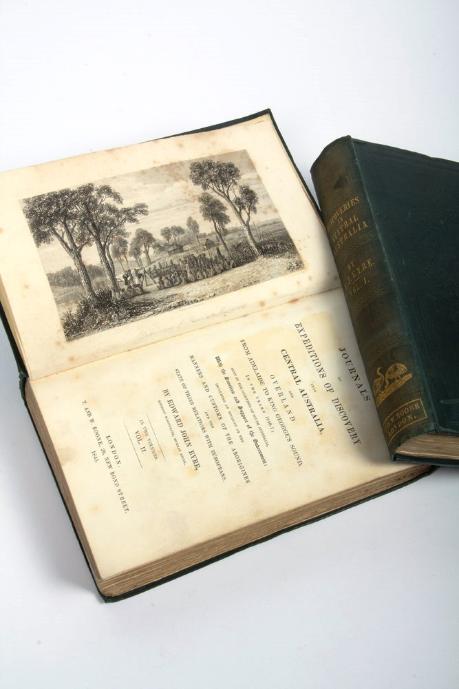 Journals of Expeditions of Discovery in Central Australia, and overland from Adelaide to King George's Sound, in the years 1840-1. Edward John EYRE.