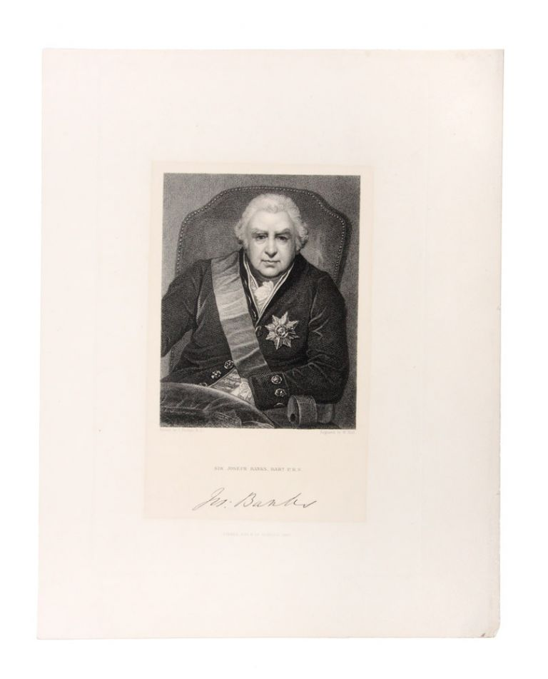 Sir Joseph Banks, Bart P.R.S. T. PHILLIPS, After.