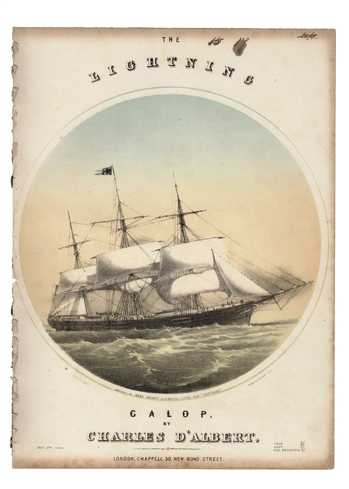 The Lightning Galop. AUSTRALIA CLIPPER, Charles D'ALBERT.