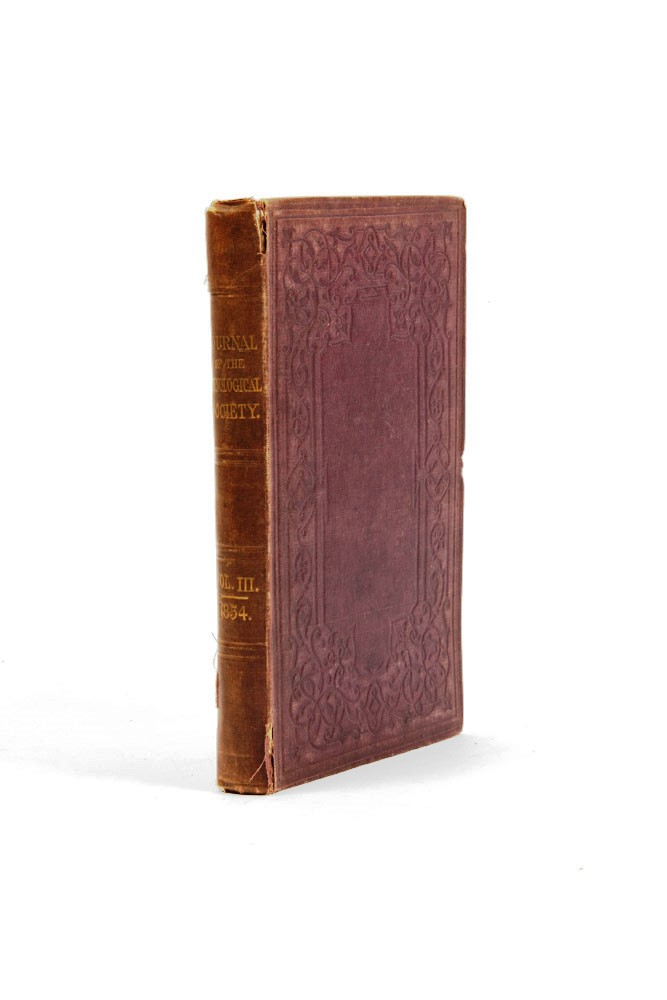 Journal of the Ethnological Society of London. Vol. III. 1854. William Augustus MILES.