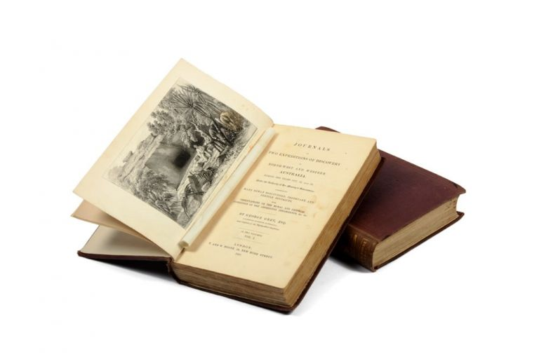 Journals of Two Expeditions of Discovery in North-west and Western Australia, during the years 1837, 38, and 39…. Captain George GREY.