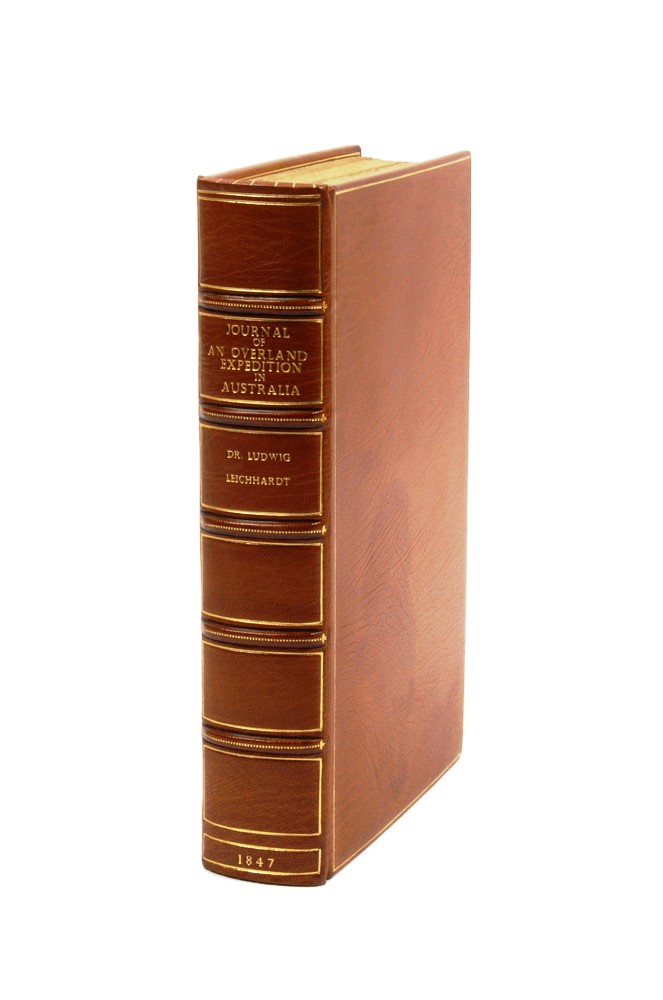 Journal of an Overland Expedition in Australia…. Ludwig LEICHHARDT.