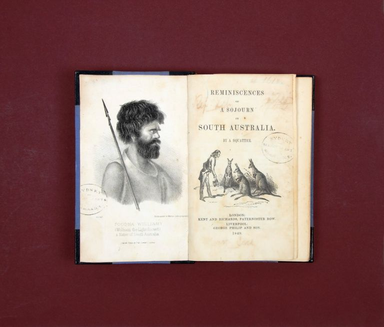Reminiscences of a Sojourn in South Australia by a Squatter. E. LLOYD.