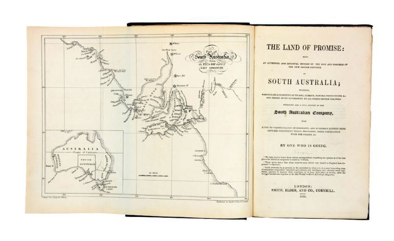 The Land of Promise…South Australia…by One Who Is Going…. WESTALL, John STEPHENS.