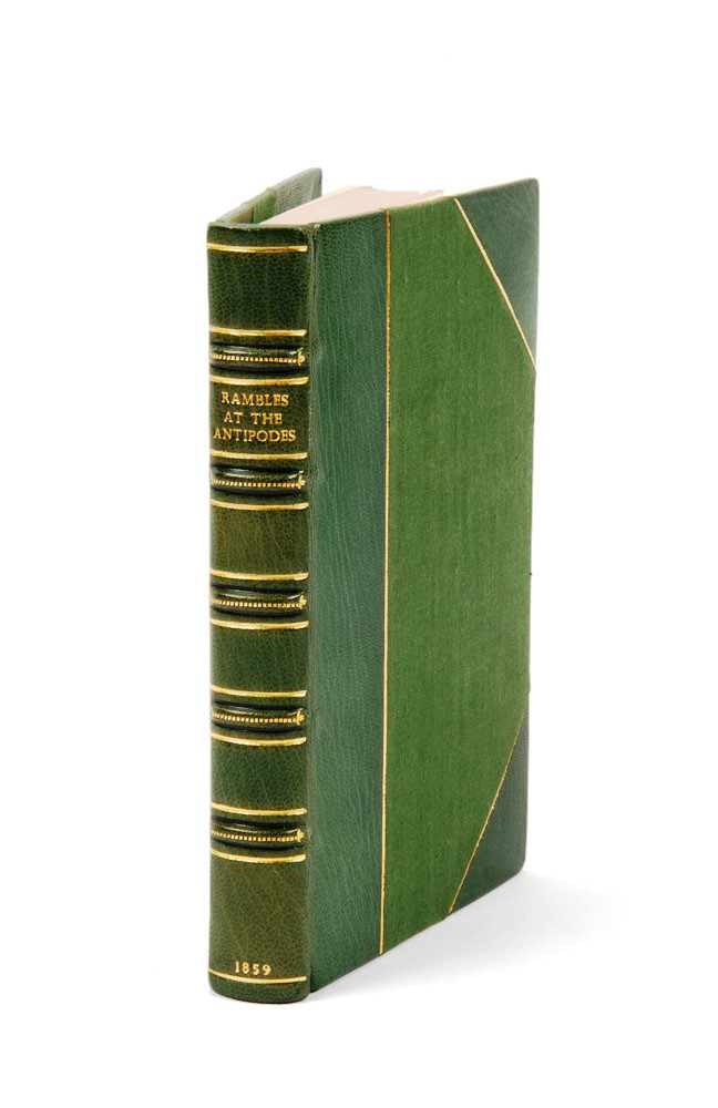 Rambles at the Antipodes: A Series of Sketches of Moreton Bay, New Zealand, the Murray River and South Australia, and the Overland Route. Edward WILSON.