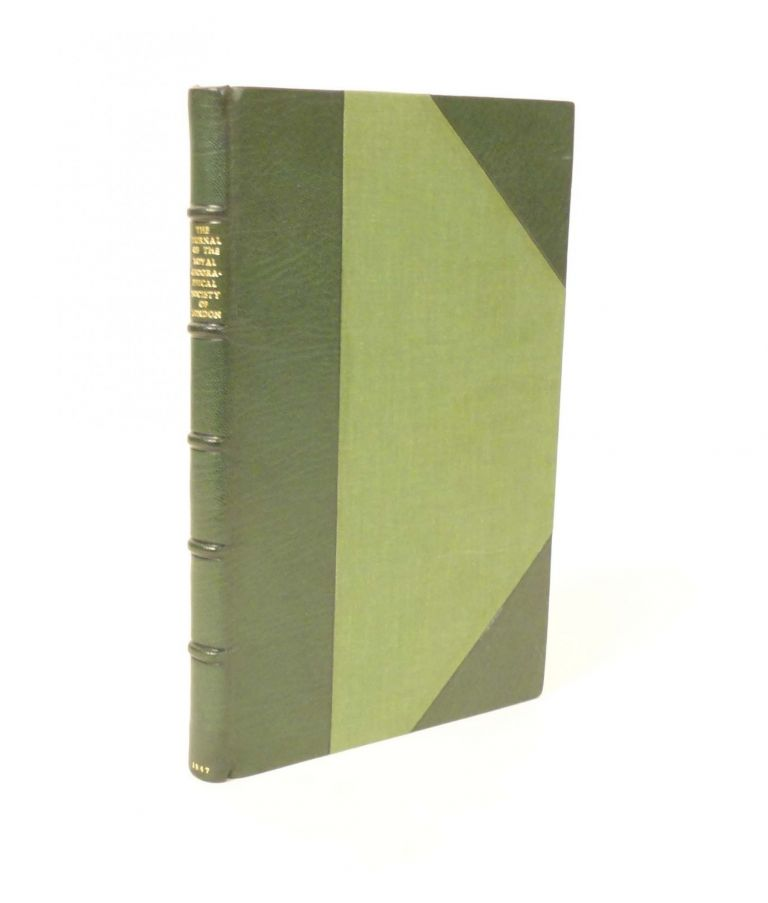 Journal of the Royal Geographical Society of London. Volume the Seventeenth, 1847. Part I. Charles STURT, Ludwig LEICHHARDT.