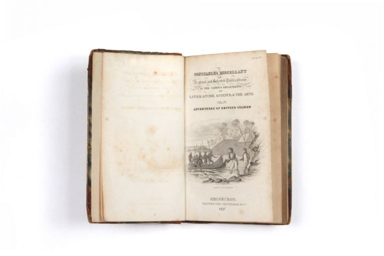 Narrative of the Shipwreck of the Antelope in August 1783; with an account of the Pelew Islands to the Present Time [in] Constable's Miscellany Vol. IV. - Adventures of British Seamen. Captain Henry WILSON.