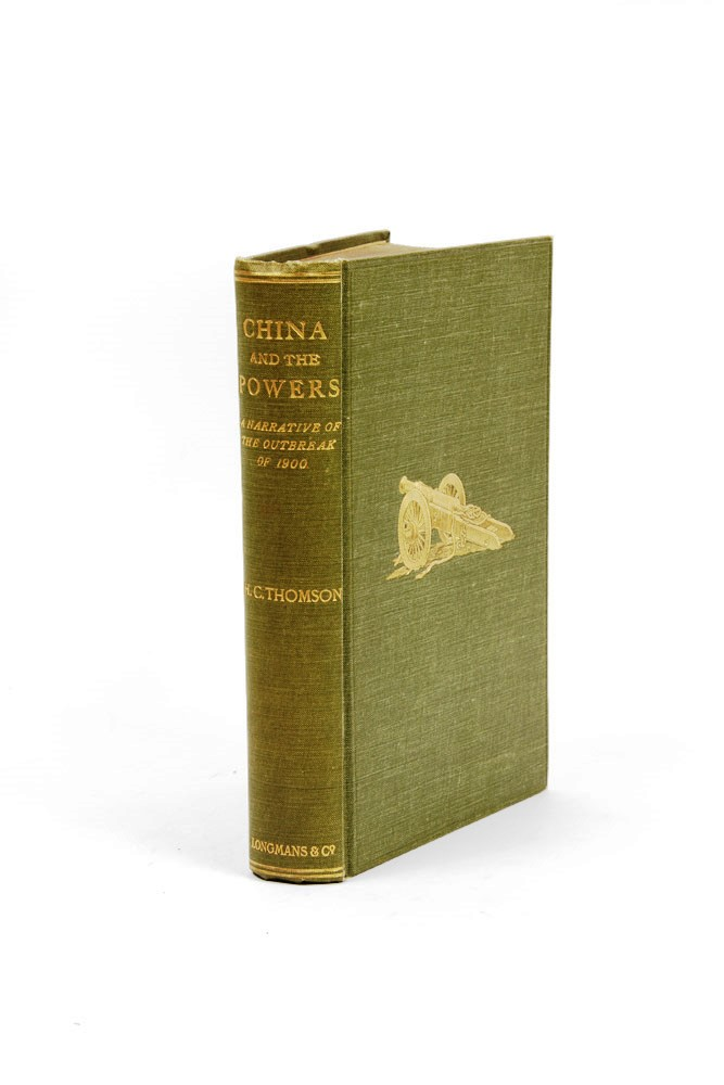 China and the Powers. A Narrative of the Outbreak of 1900. H. C. THOMSON.