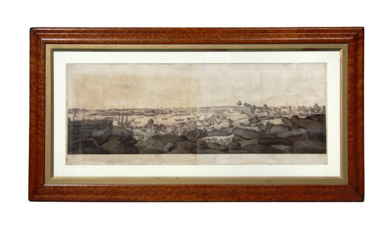 New South Wales. View of Sydney from the West Side of the Cove No. 1 [and] No. 2. MANN, John EYRE.