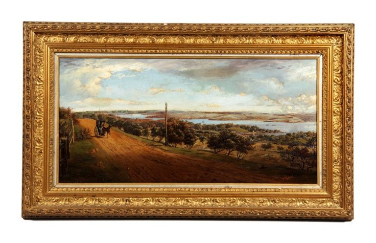 View from Vaucluse. George F. HALSTED.