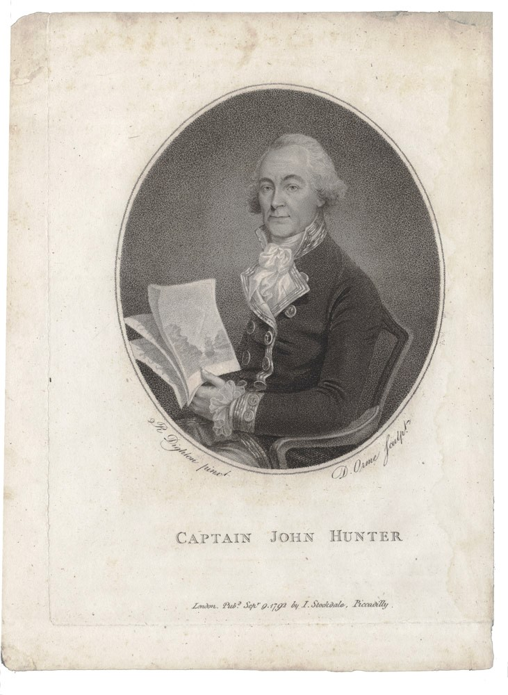 Captain John Hunter. HUNTER, H. DIGHTON, after.