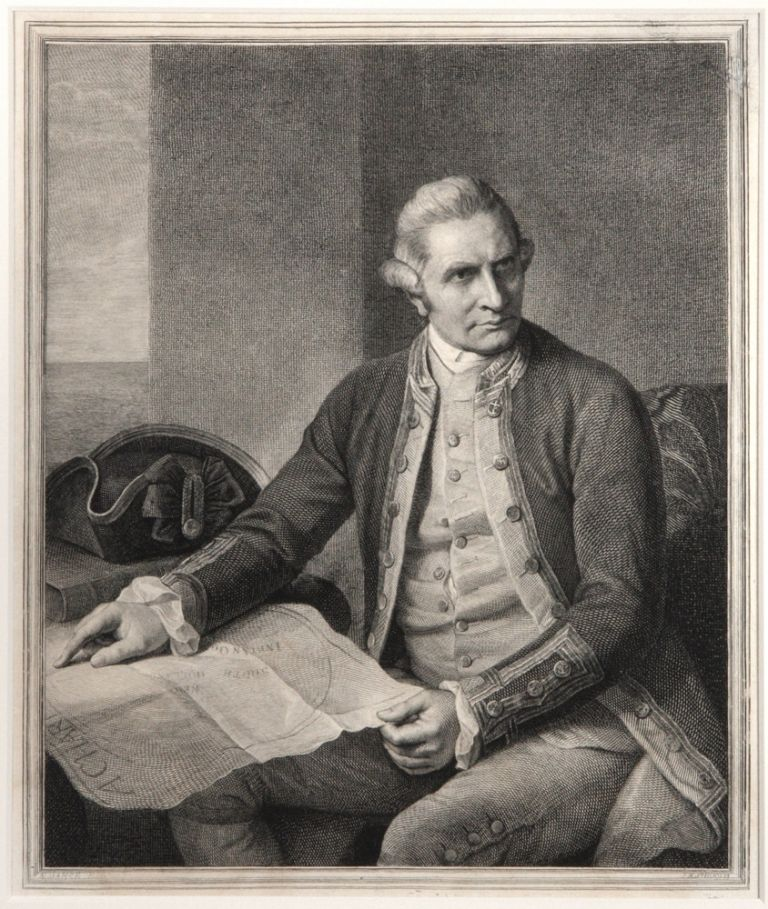 [Captain James Cook]. COOK: PORTRAIT, Nathaniel DANCE, after, John Keyes SHERWIN.