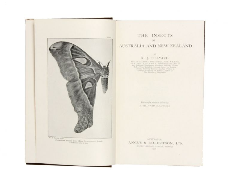 The Insects of Australia and New Zealand. R. J. TILLYARD.