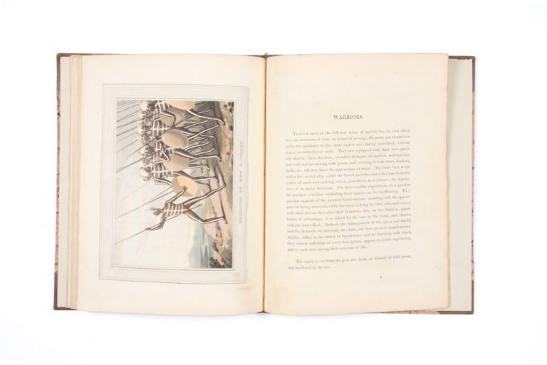 Field Sports, &c. &c. of the Native Inhabitants of New South Wales with ten plates by the Author. John Heaviside CLARK.