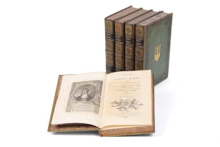 The Works of Robert Burns with an account of his life, and a criticism of his writings... Seventh edition. Robert BURNS.