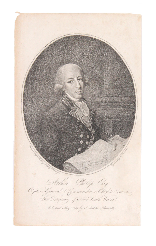 Arthur Phillip Esq. Captain General and Commander in Chief…. W. after Francis WHEATLEY SHERWIN.