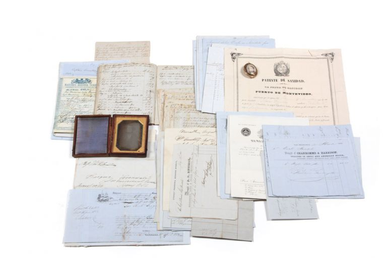 "Extensive Archive relating to the three-year maiden circumnavigation voyage of the Nova Scotia Bark ""Avondale"" Thomas Henry ARMSTRONG, Captain."