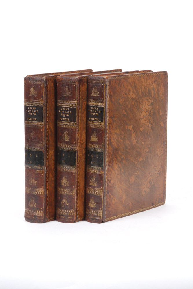 A Voyage round the World in His Britannic Majesty's Sloop Resolution…[with]  Observations made during a Voyage Round the World on Physical Geography, Natural History and Ethic Philosophy. COOK: SECOND VOYAGE, George FORSTER.