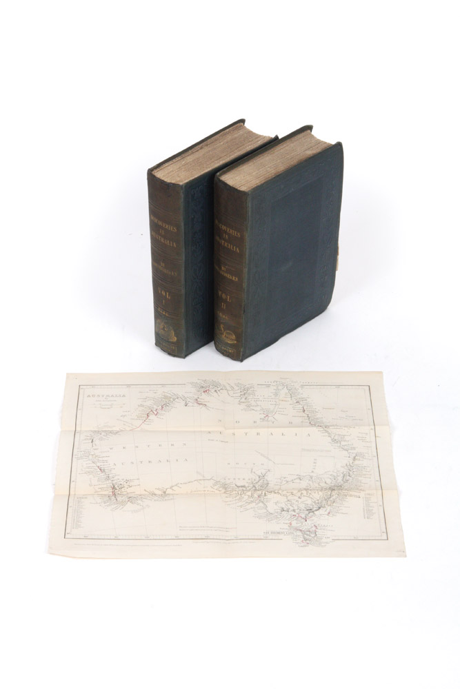 Discoveries in Australia; with an Account of the Coasts and Rivers Explored and Surveyed during the Voyage of H.M.S. Beagle. BEAGLE, John Lort STOKES.