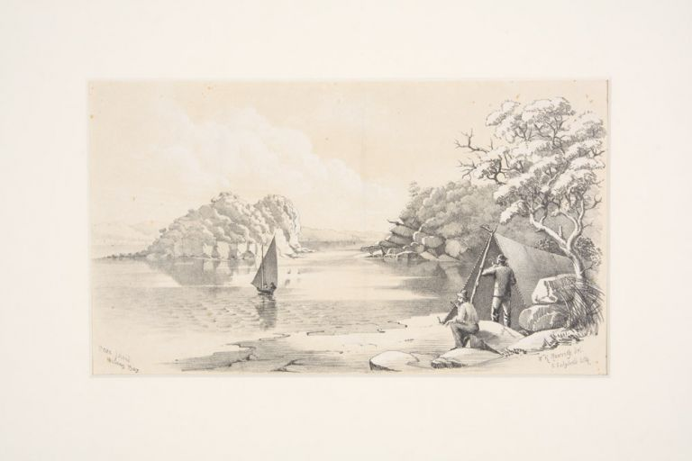 Bear Island Botany Bay. SYDNEY, William Henry RAWORTH.