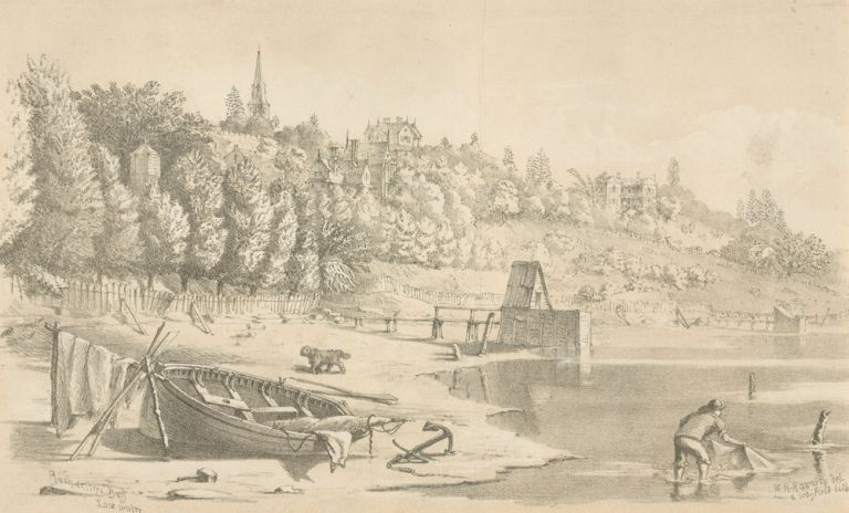 Rushcutters' Bay Low Water. SYDNEY, William Henry RAWORTH.