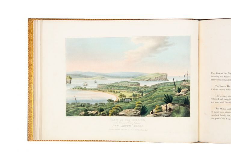 Views in Australia or New South Wales, & Van Diemen's Land Delineated, in Fifty Views, with descriptive Letter Press…. Joseph LYCETT.