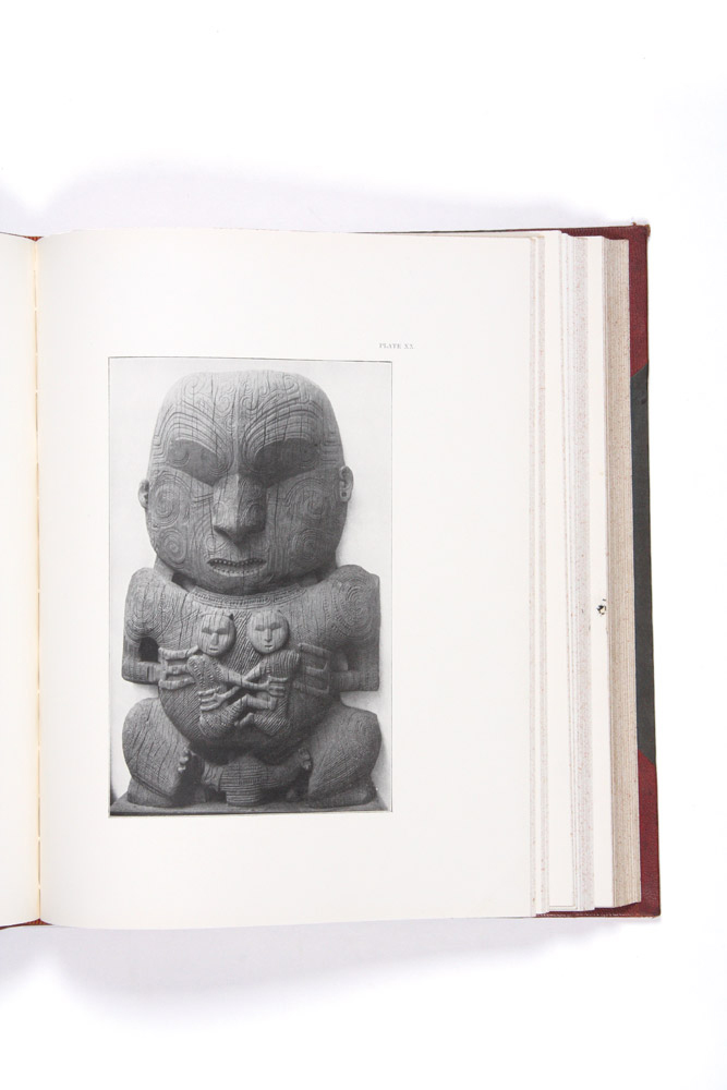 Maori Art: The Art Workmanship of the Maori Race in New Zealand. MAORI, Augustus HAMILTON.