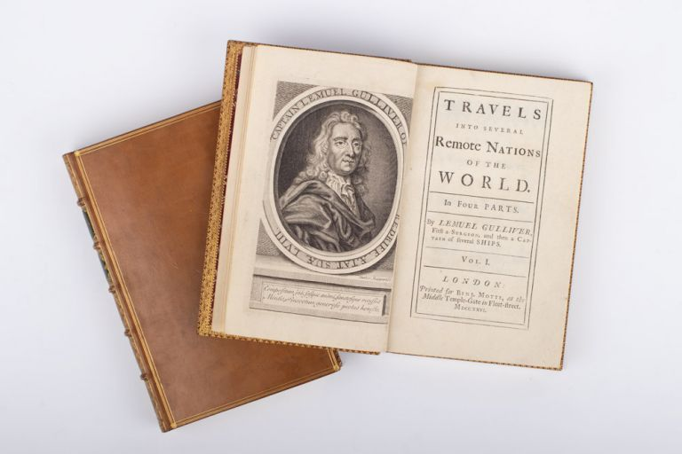 Travels into Several Remote Nations of the World. In Four Parts, By Lemuel Gulliver, first a Surgeon, and then a Captain of Several Ships. Jonathan SWIFT.