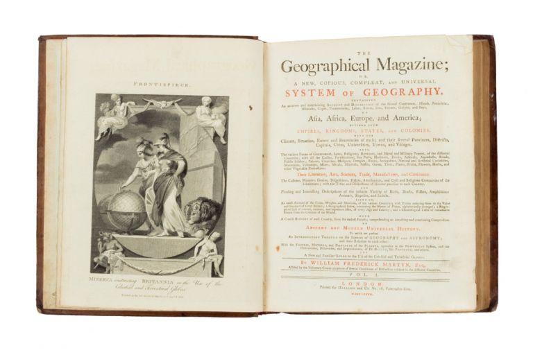 The Geographical Magazine; or, a New, Copious, Compleat, and Universal System of Geography…. COOK: THIRD VOYAGE, William Frederick MARTYN.