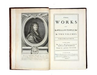 The works of Sir William Temple,… To which is prefixed the life…